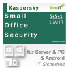 Kaspersky Small Office Security 5+5+1 WIN MAC Android 1 Fileserver + 5 Workstations Vollversion GreenIT 1 Jahr