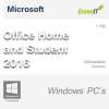 Microsoft Office Home and Student 2016 1 PC Vollversion GreenIT