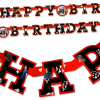 One Direction Partykette HAPPY BIRTHDAY, 1,7m, cool bedruckte Pappe