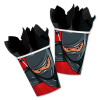 Partybecher Ninja, 8er Pck, 266ml, Pappbecher zur Kidsparty