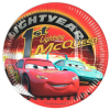 Partyteller World of Cars im 10er Pack, ca. 23cm, Lightning McQueen