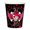 Piraten Girl Becher 8 Stk., 250 ml