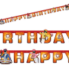 Power Rangers Partykette HAPPY BIRTHDAY, 1,8m, hübsch bedruckte Pappe