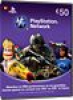 Playstation Network Card 50 Euro [BE]