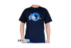 AbyStyle Sonic The Hedgehog Sonic Laufend T-Shirt Navy (M)