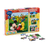 Educa - Micky Maus - Wunderhaus-Puzzles - Set mit 4 Puzzles