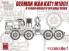 German KAT1M1001 8*8 HIGH-Mobility off- road truck
