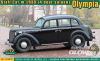 Olympia (4 door saloon) staff car, 1938