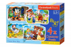 Classic Fairy Tales - Puzzle - 3+4+6+9 Teile