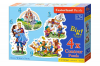 Snow White´s Story - Puzzle - 3+4+6+9 Teile