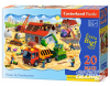 House in Construction - Puzzle - 20 Teile Maxi