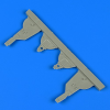 Ki-61-Id Hein - Undercarriage covers [Tamiya]