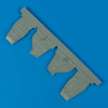 SB2C Helldiver - Air scoops [Accurate Miniatures]