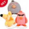 Zuckerfiguren Set Angry Birds, 3 Figuren, essbare Tortendeko