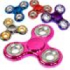 Fidget Spinner Metallic Look, 1Stk