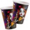 Partybecher Monster High, 8er Pack, extra gruselig , 266ml, edle Pappe
