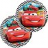 Partyteller Cars Racing Sports Network für Rennwagen-Fans, 8er, 19cm