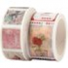 2 Rollen Washi Tape - Briefmarken
