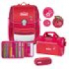 Scout Genius Cherry Red Schulranzenset 4 tlg