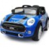Mini Cooper Ride on blau