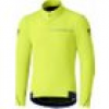 Wintertrikot Shimano Thermal  Winter Jersey L, Neongelb