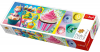 Panorama Puzzle 1000 Teile - Cupcakes Collage