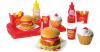Spiellebensmittel Hamburger Set