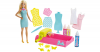 Barbie loves Crayola Color Magic Station mit Puppe